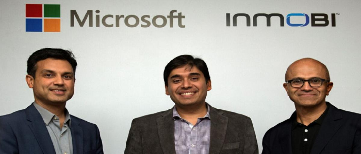 InMobi partners with Microsoft for Cloud