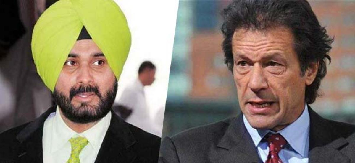 Navjot Singh Sidhu optimistic about Indo-Pak ties after receiving peace message from friend Imran Khan