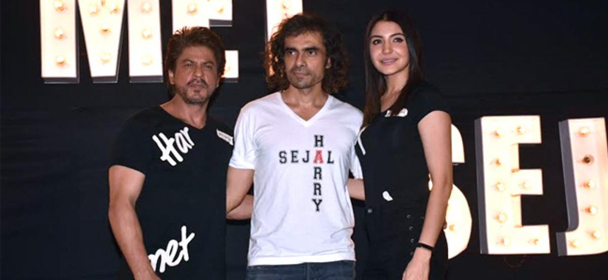Hope Im able to justify SRKs talent in Jab Harry...:Imtiaz