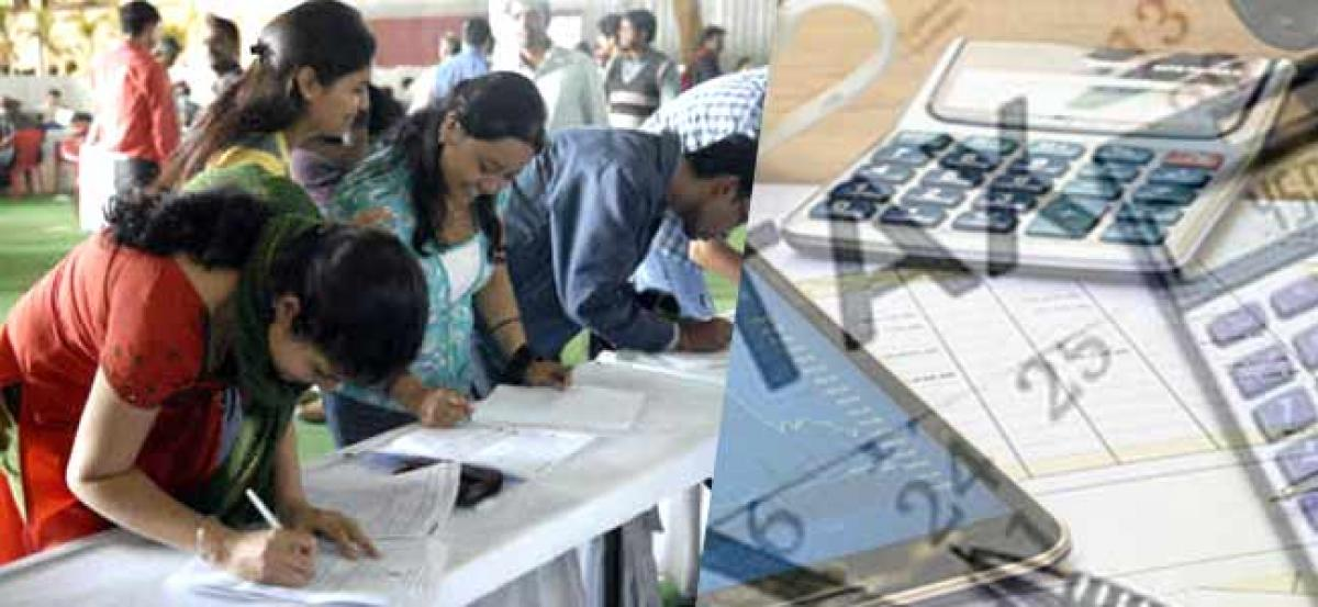 Income Tax returns: Filings double