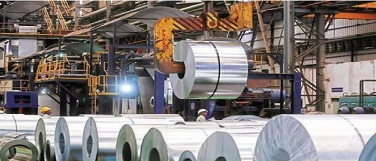 Industrial growth slips to 4-month low of 4.5 per cent in Sept