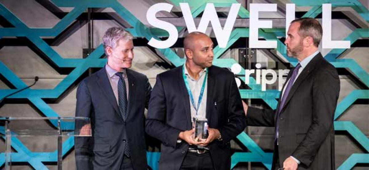 InstaReM recognised as Blockchain Innovator at the Swell by Ripple Conference
