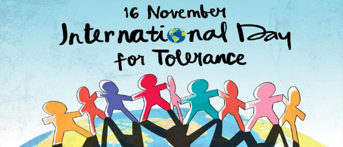 Tolerance: A virtue that makes peace possible