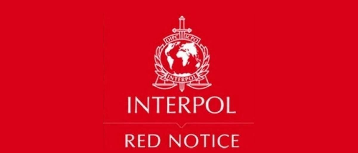 Red Corner Notice