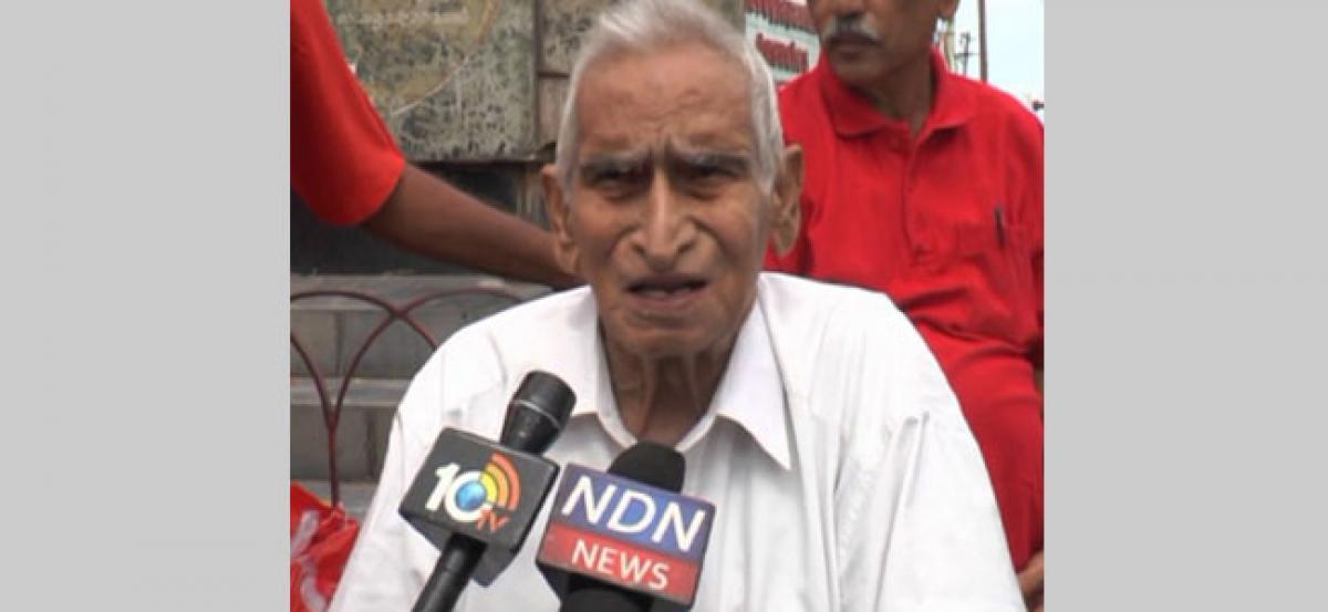 CPM veteran leader Jakka Venkaiah dies