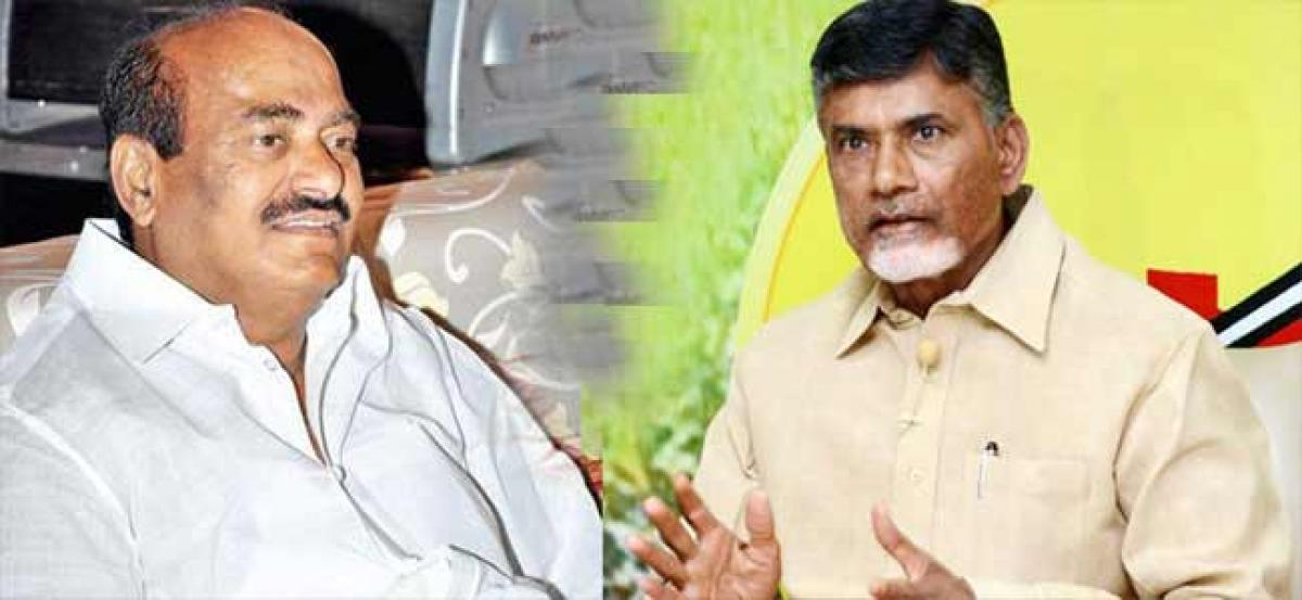 Chandrababu Puts Condition To JC Diwakar?