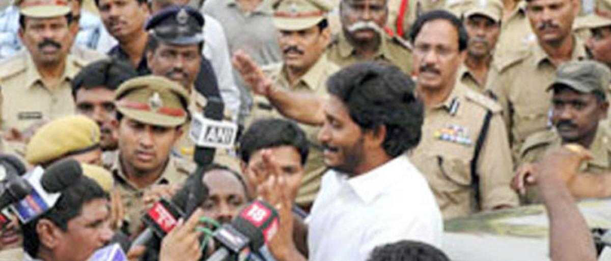 Security Tightened For Jagan