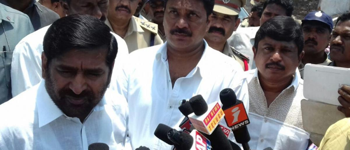 Minister Jagadish Reddy slams Congress for making baseless charges against govt/