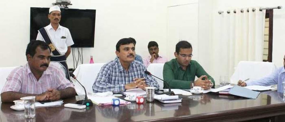 Complete updation of revenue records within 10 days: Jagtial Collector