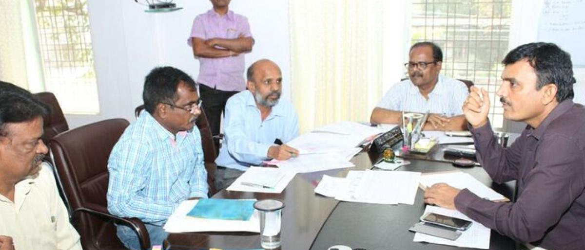 Officials told to provide updates on land acquisition: Jagtial Collector