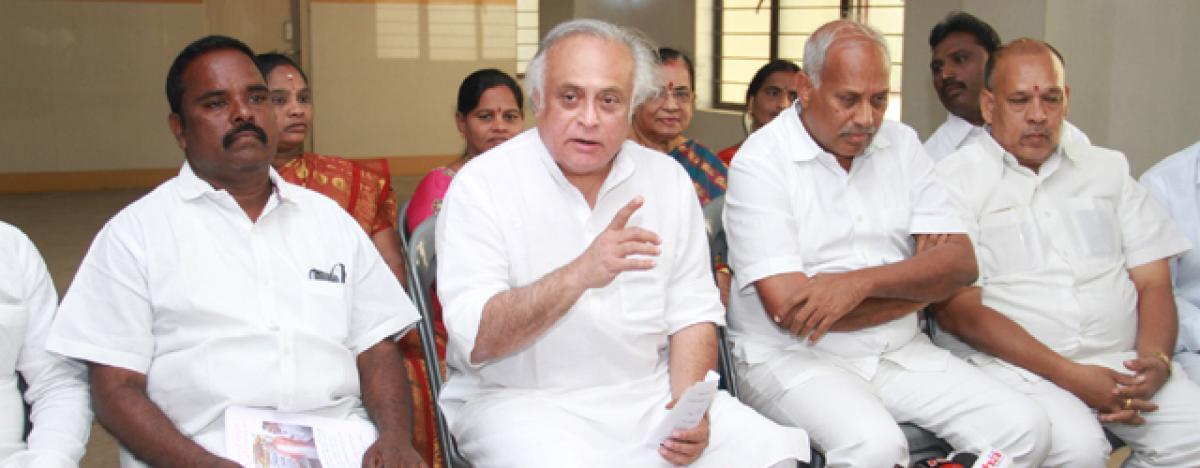Jairam advises Naidu to bid adieu to NDA