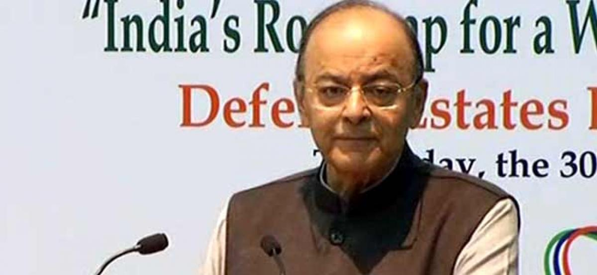 GDP will further improve in next quarters: Jaitley