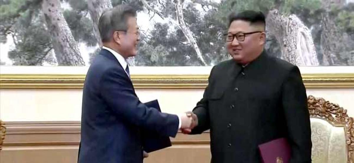 North Korea has agreed to permanently scrap missile sites, says South Korean Prez after summit talks