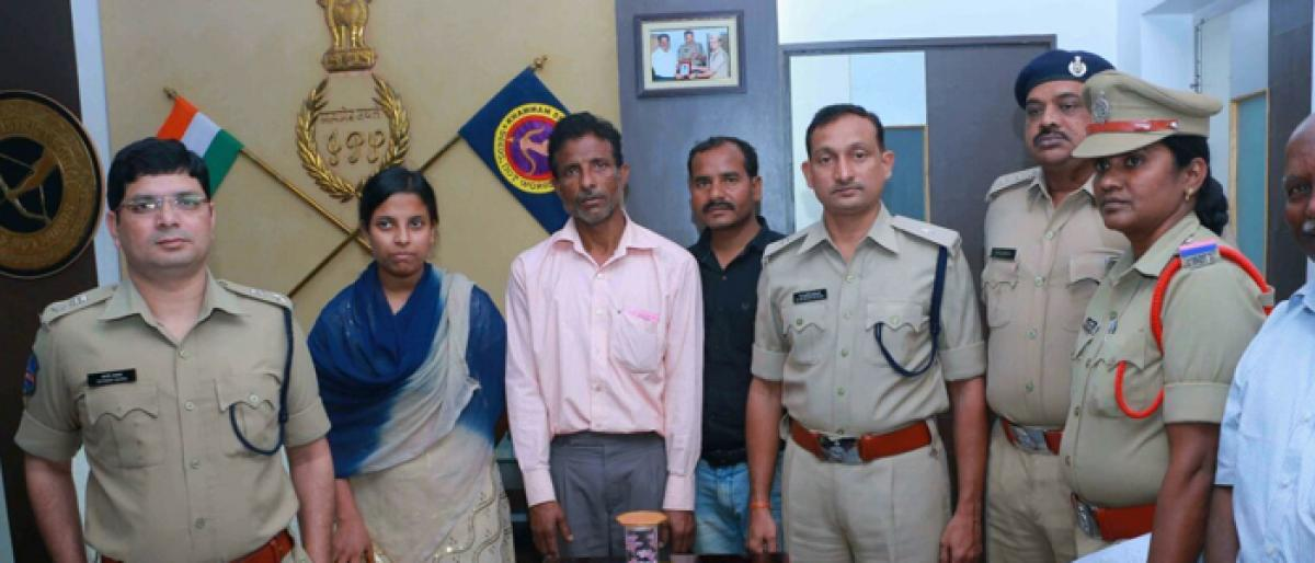 Jharkhand woman reunited with family