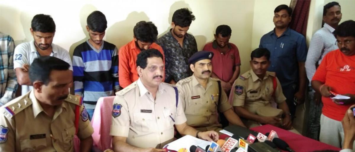 Jiyapally lynching: Rachakonda Cops take 6 people into custody