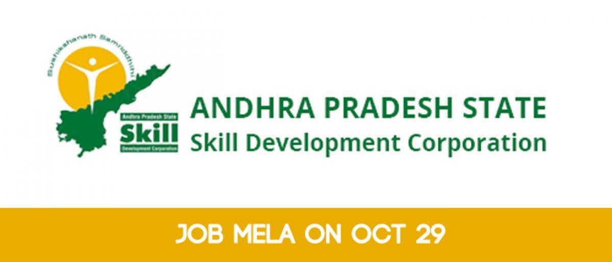 Job Mela of APSSDC on Oct 29