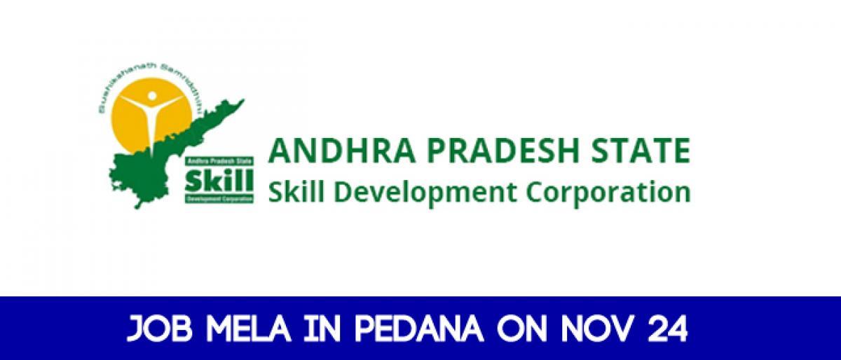 Job mela in Pedana on Nov 24