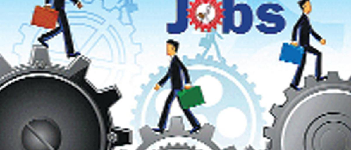 India Inc's job creation moderates to 3.8 per cent in FY18