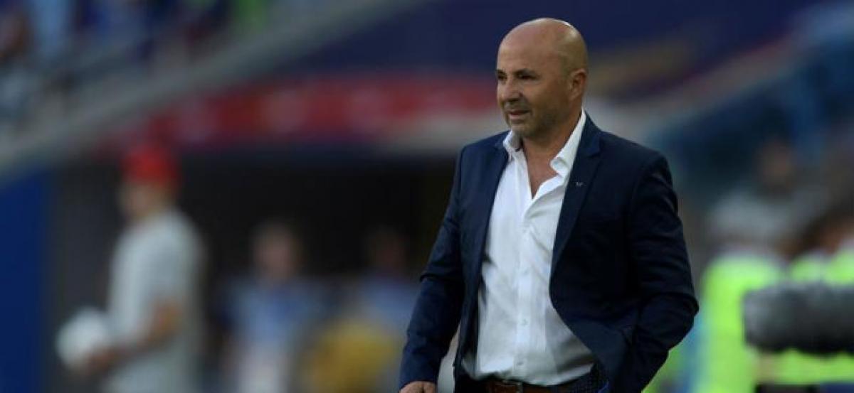 Jorge Sampaoli steps down as Argentina coach following World Cup failure