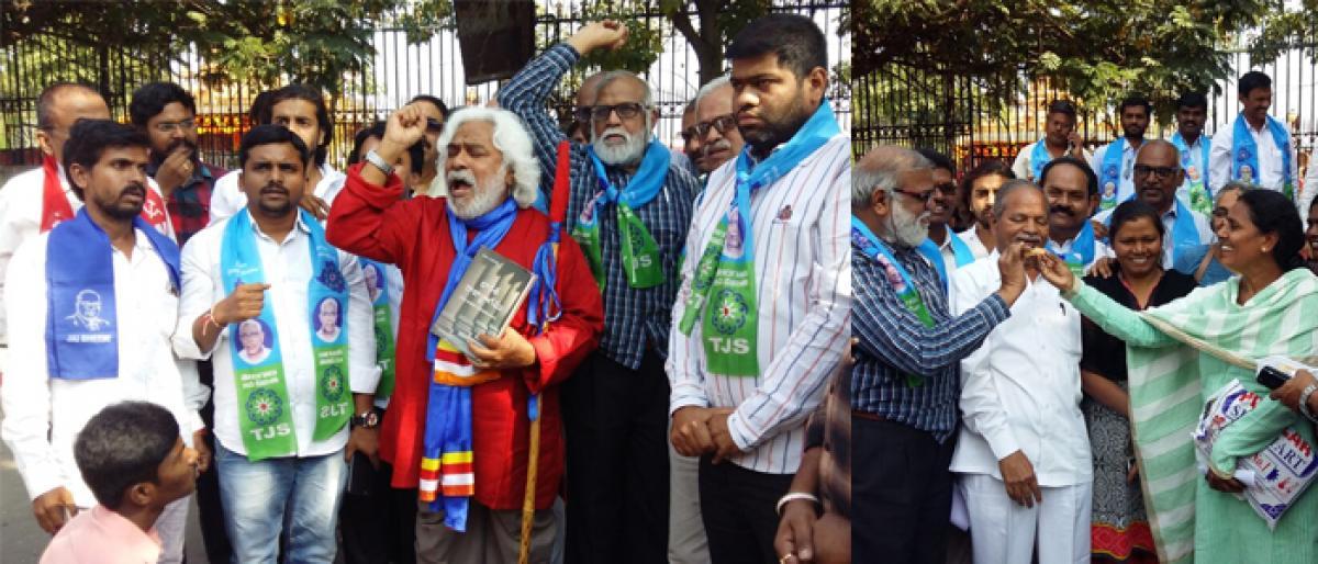 Jubilation as ban at Dharna Chowk goes