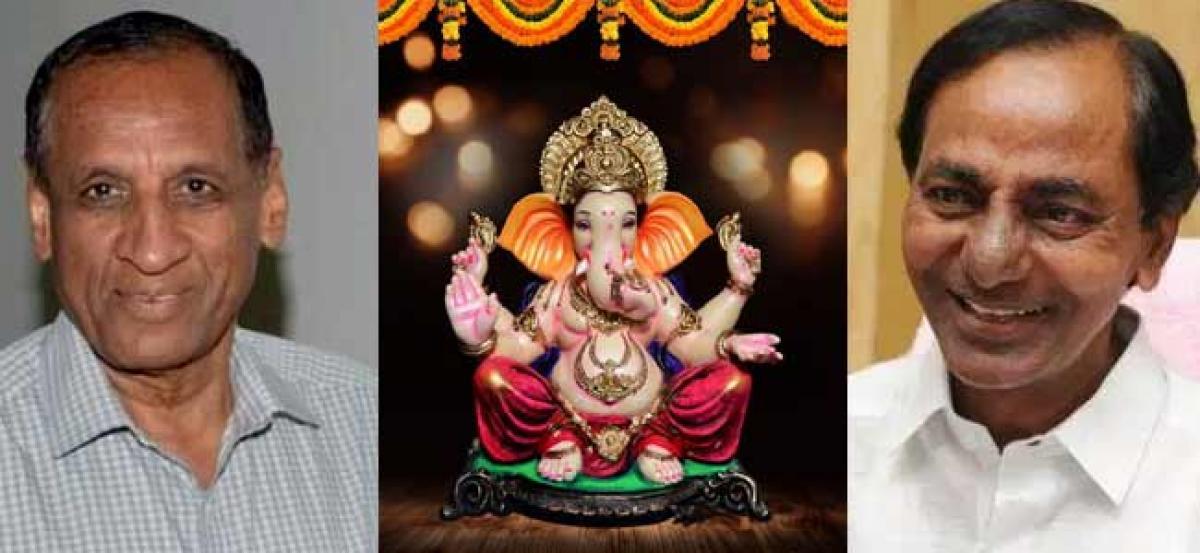 Governor, CM greet people on Ganesh Chaturthi