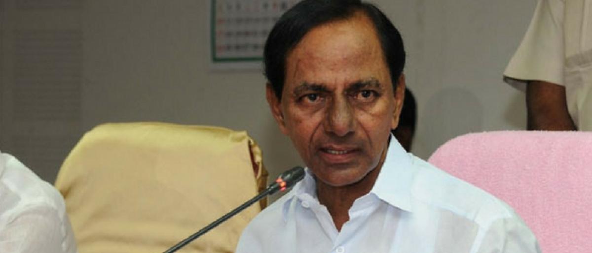 Govt not targeting film industry: KCR