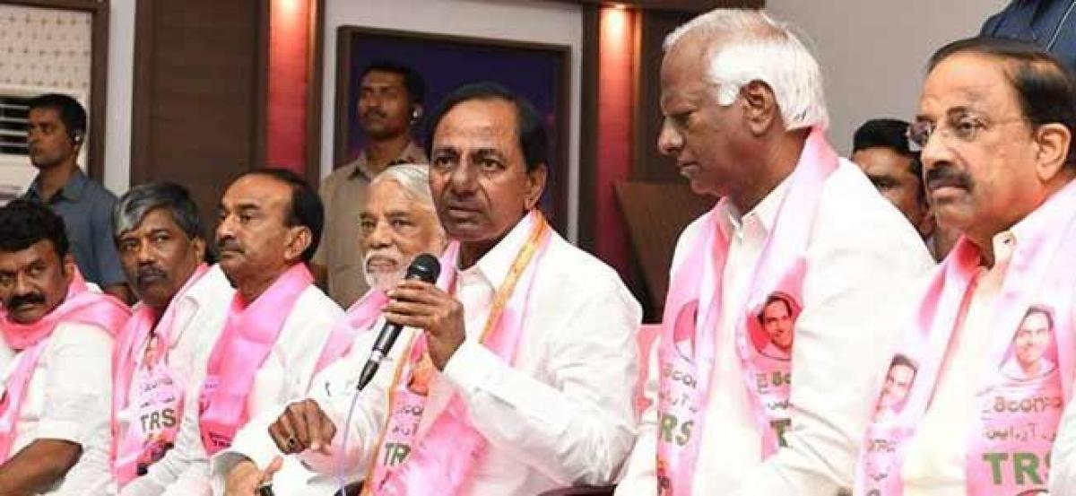 KCR to resume election campaign from Nov 12