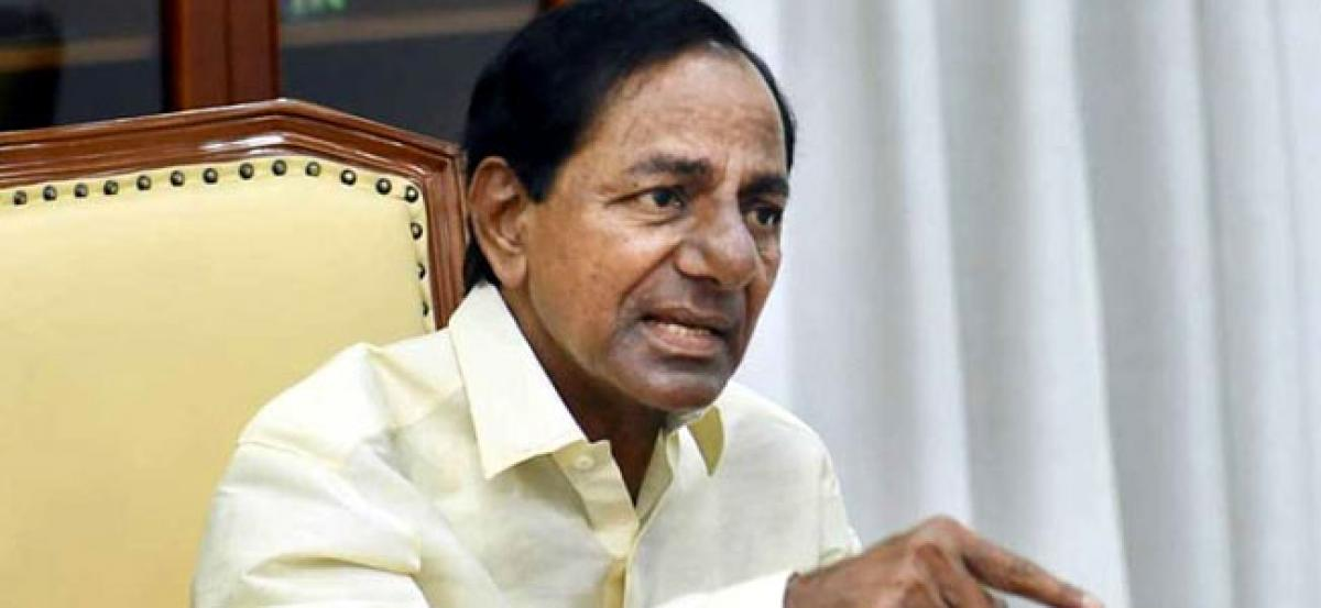 Temple official suspended after saree offered by KCR goes missing