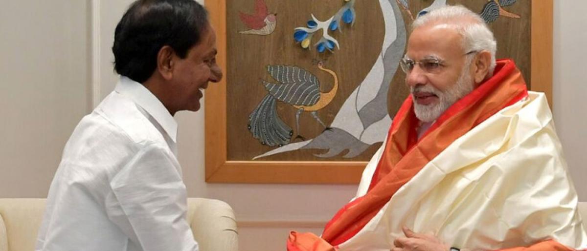 KCR seeks 20K-cr assistance for Kaleswaram project