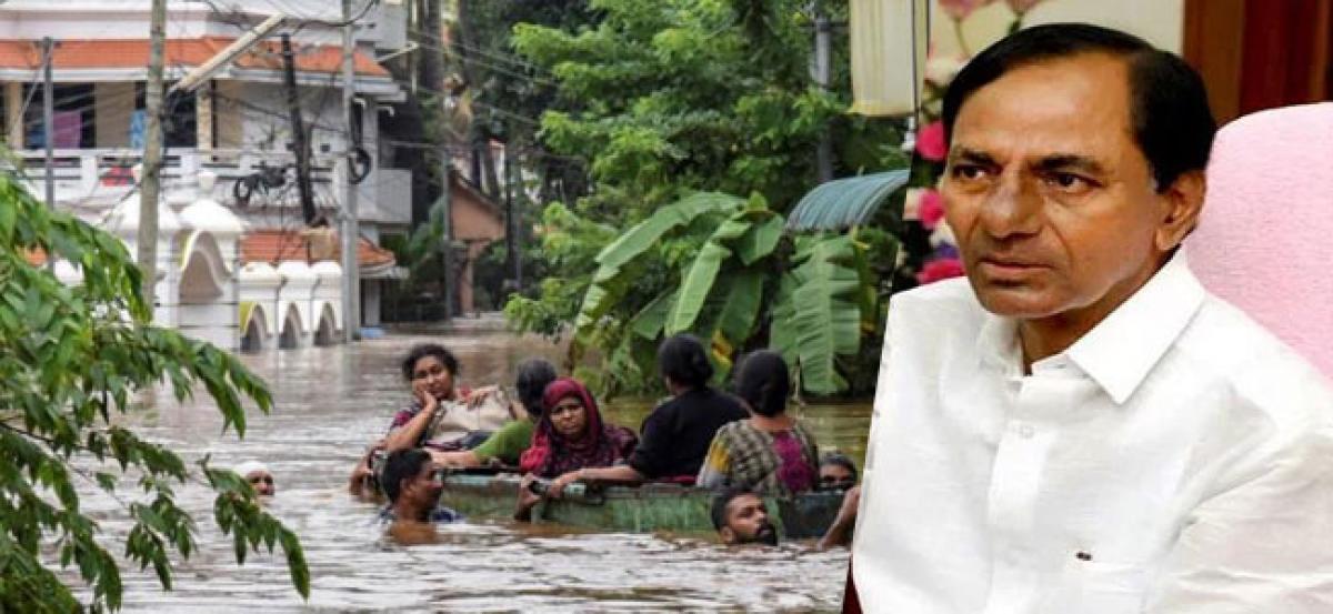Kerala floods: TS Govt announces Rs 25 crore aid