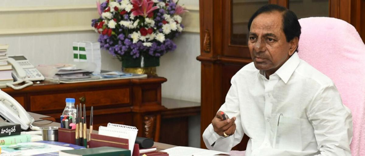 KCR ready to kick off poll campaign
