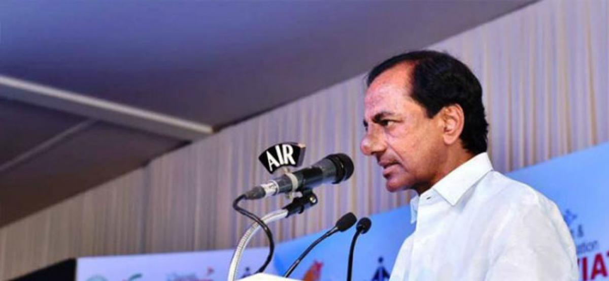 KCR sets deadline for Mission Bhagiratha project works; No leave for staff