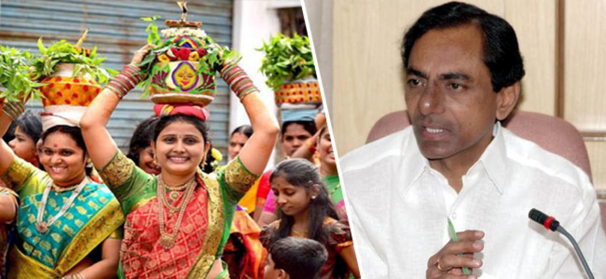 Telangana CM sanctions Rs. 15 Cr for Bonalu festival