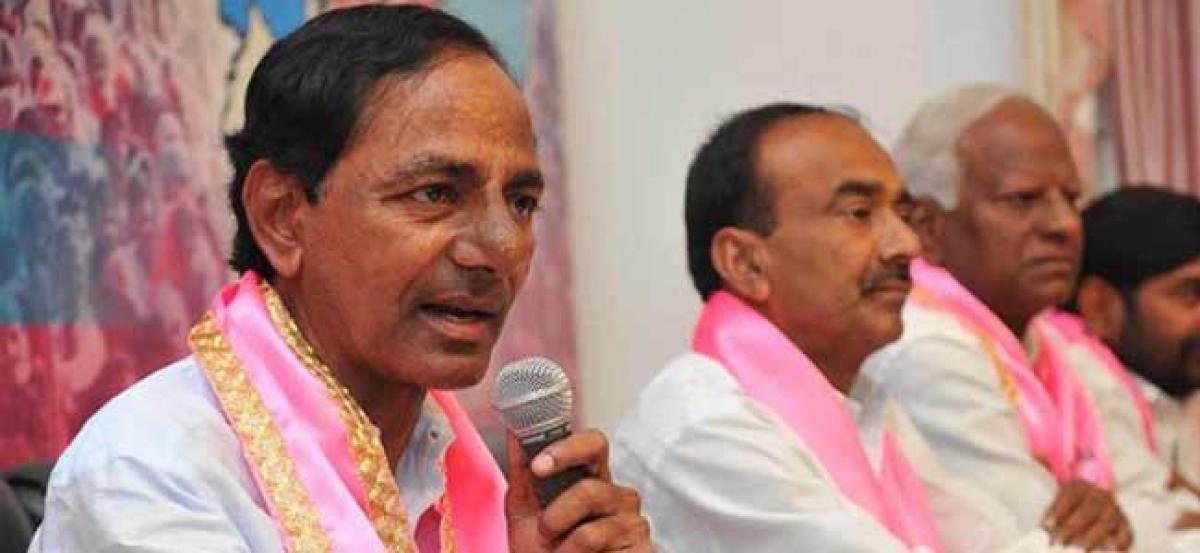 KCR to hold TRS meet regarding Pragathi Nivedana Sabha