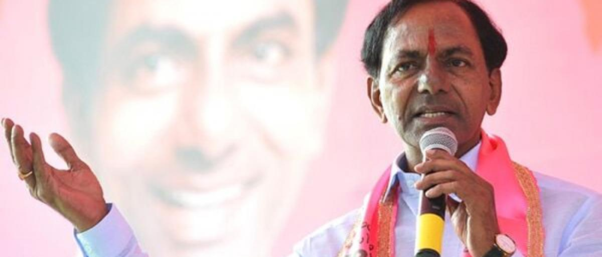 KCR draws new schemes to help poor among Forward Communities