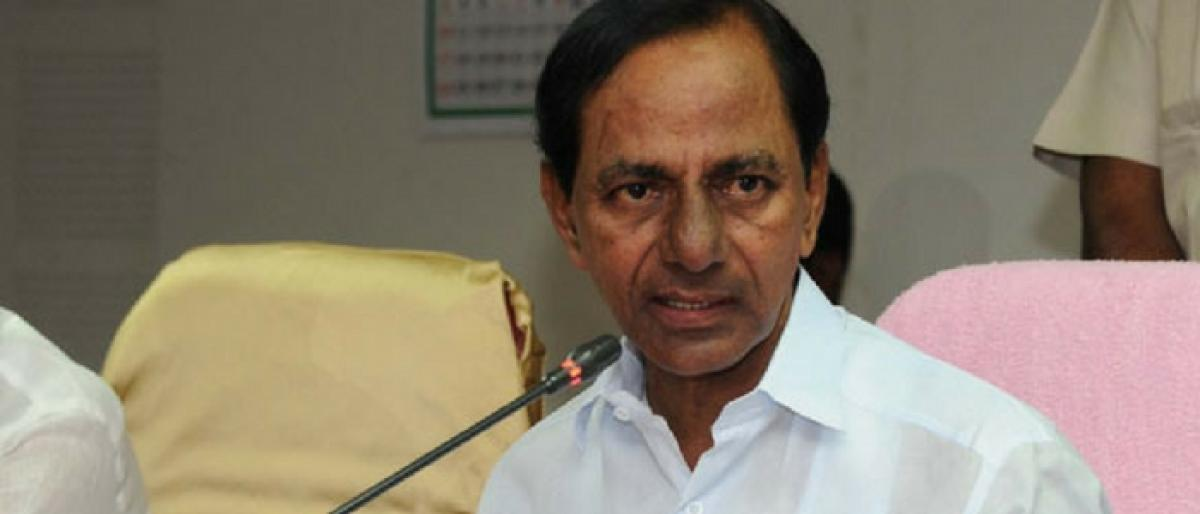KCR moots separate budget for agriculture