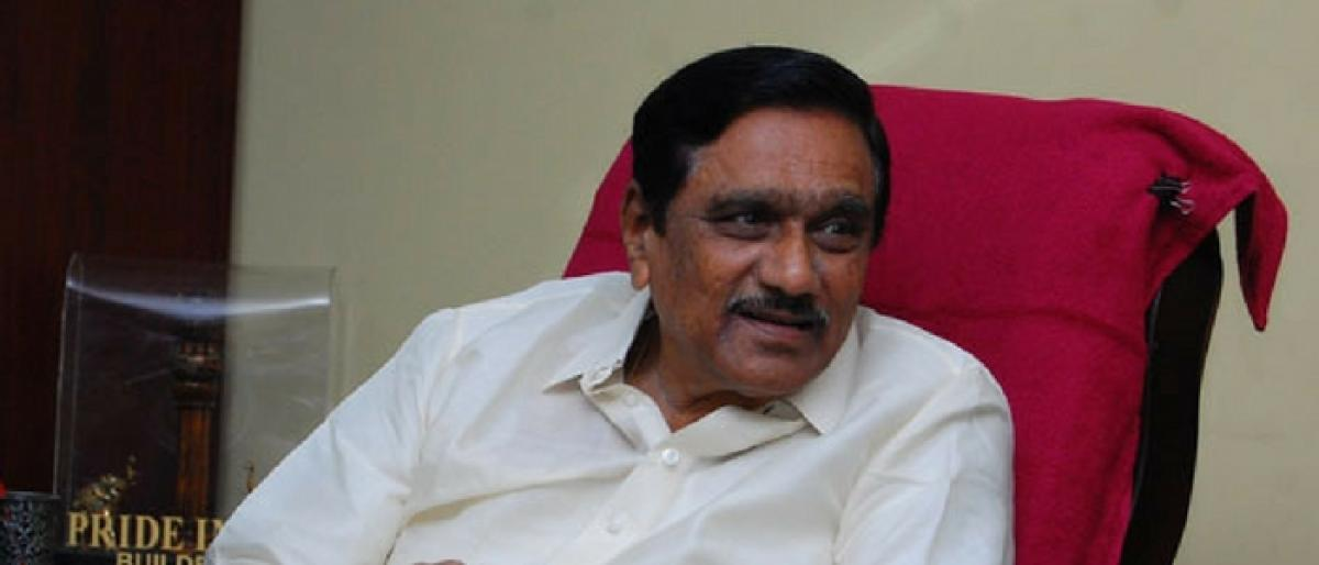 YS Jagan is not a mature leader: KE Krishnamurthy