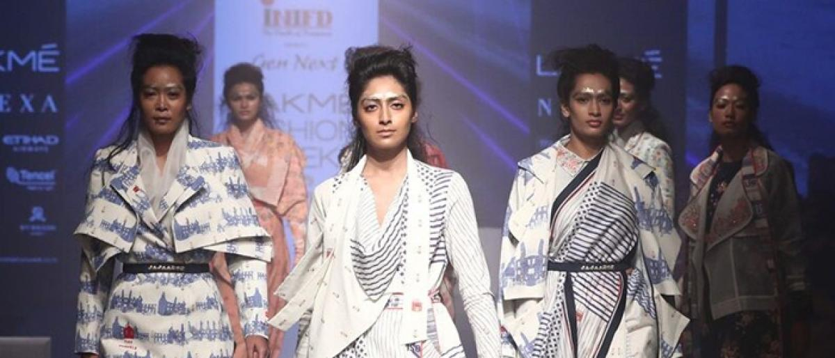 Gen Next gives eclectic start to LFW