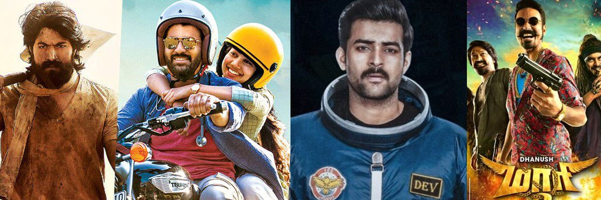 Telugu films at USA Box Office Collections