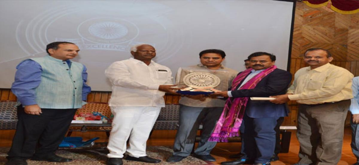 Excellence awards to Civil Servants