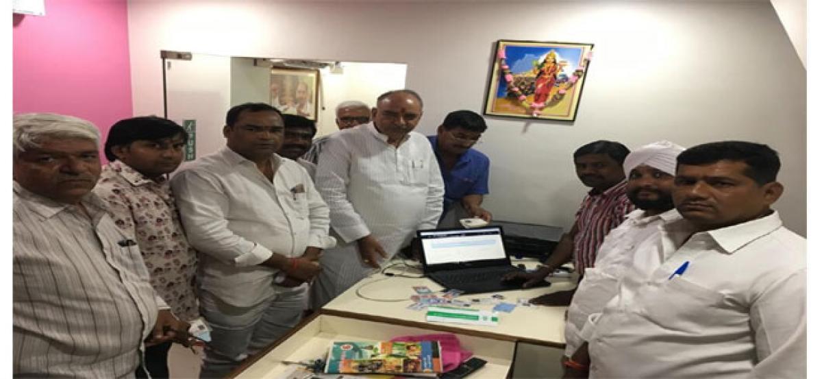 Rathore inspects voter enrolment centre