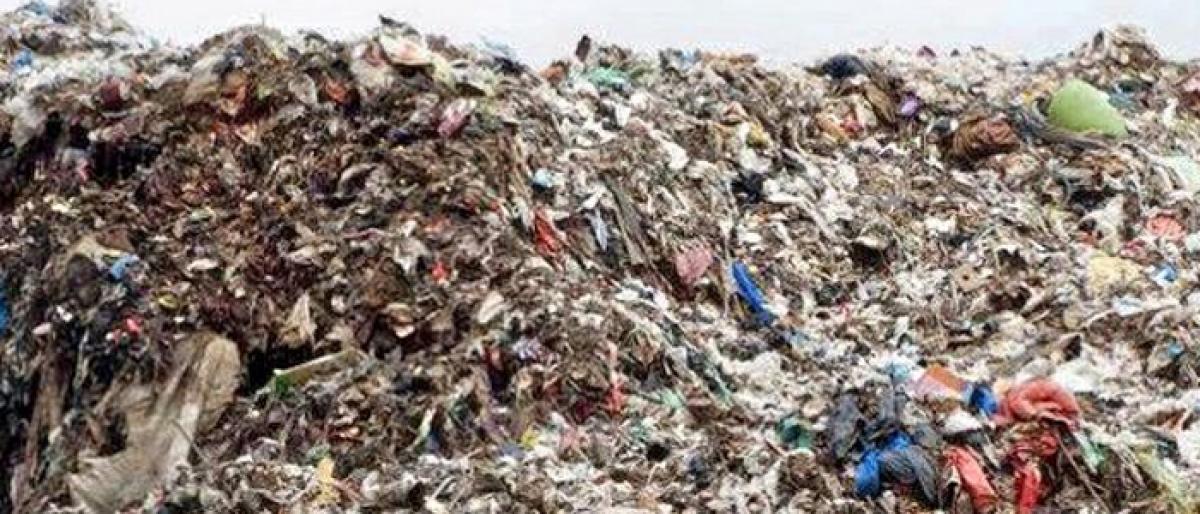 Khammam Municipal Corporation in a predicament over Dhanvaigudem dumping yard
