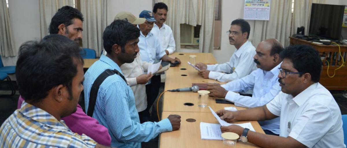 65 petitions received at Bhadradri Girijan Darbar