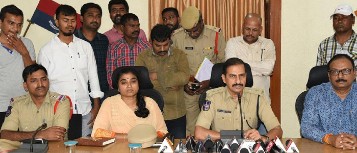 Two held for cheating;property seized