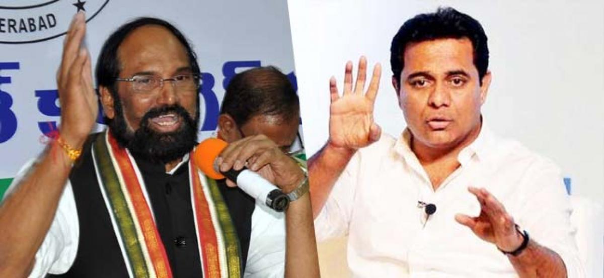 I am not  like Pappu: KTR to Uttam Kumar