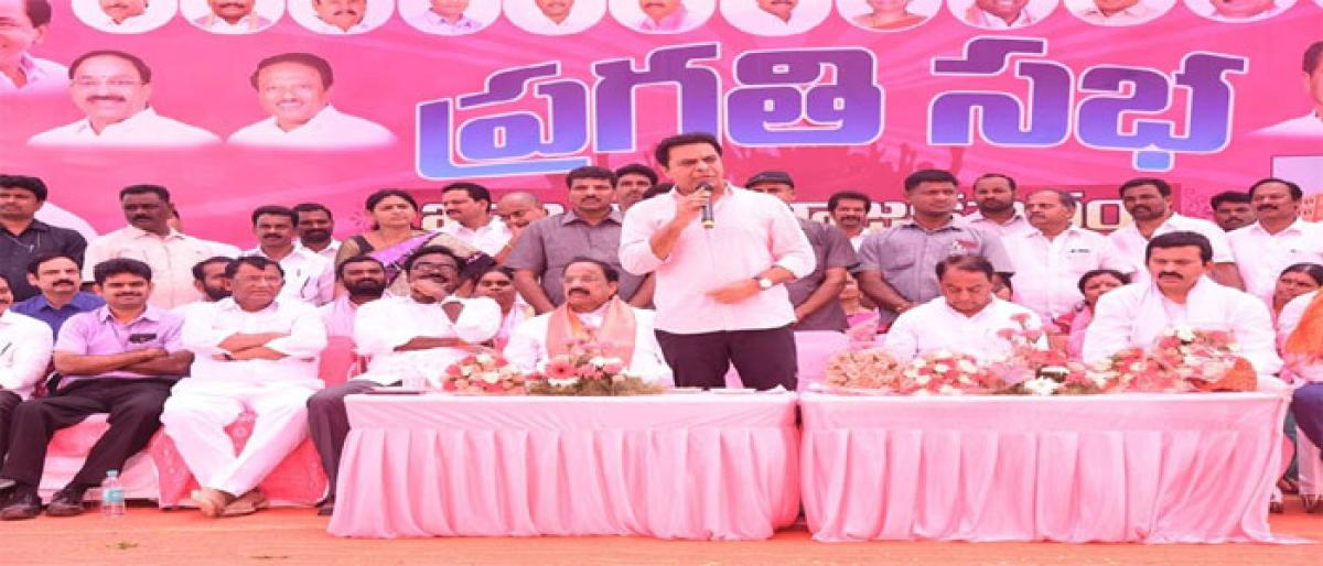 Telangana emerging centre of national attention: KTR