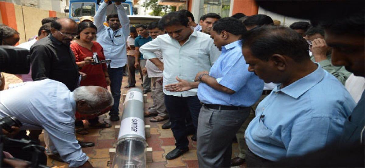 Telangana aiming at ODF plus status: KTR