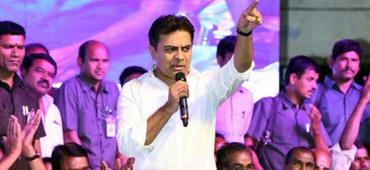 Congress and TDP responsible for Palamuru's backwardness: KTR
