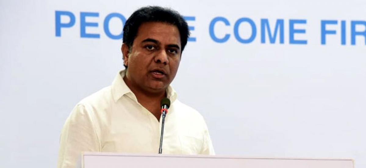 KTR makes a birthday request