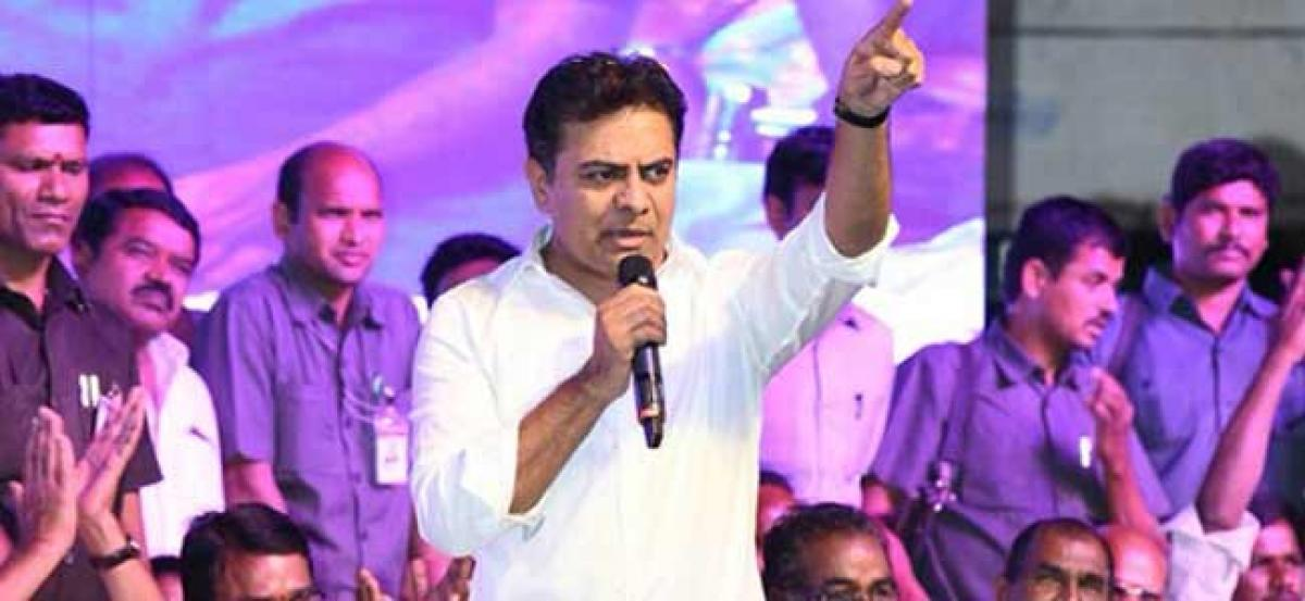 Even a child can predict TRS victory in next polls: KTR
